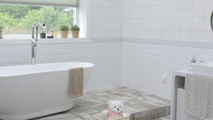 Cementtegels In Badkamer : Nieuwe badkamer met cementtegels nieuw huisje